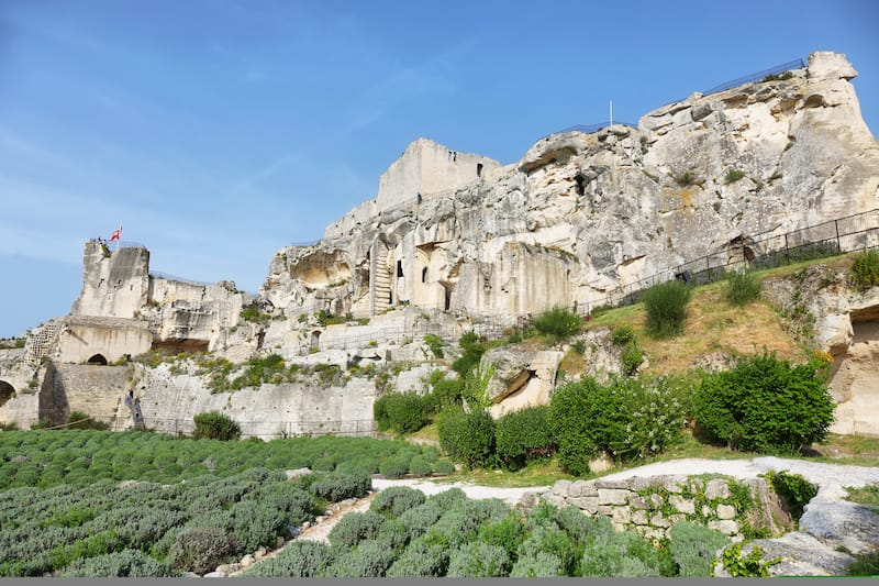 Les Baux de-Provence in April