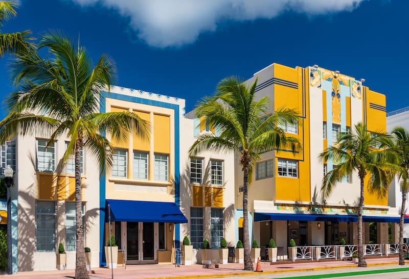 Miami in March