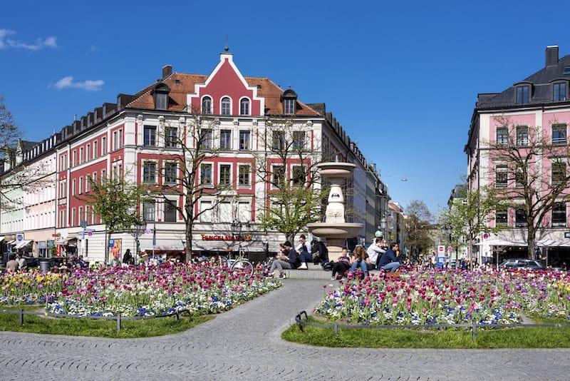 Munich in April