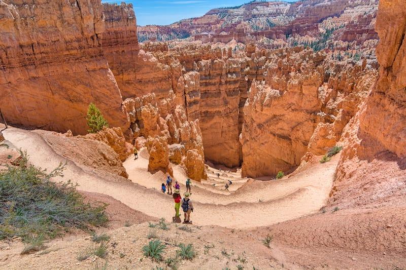 Navajo Loop in Bryce Canyon National Park