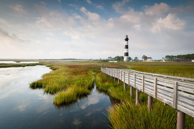 Outer Banks in spring