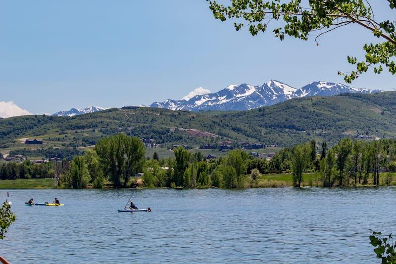 Pineview Reservoir near Eden