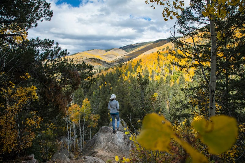 Santa Fe New Mexico trails -shutterstock_1171933216