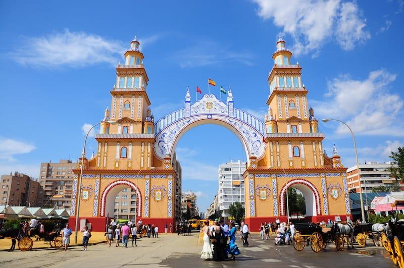 Seville in April