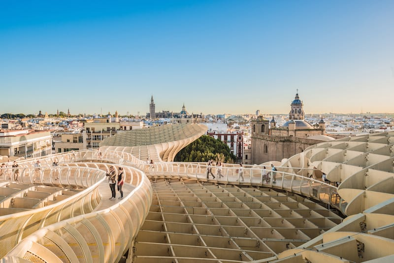 Seville in March