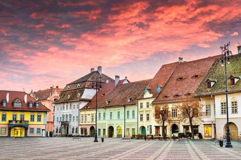 Sibiu in March