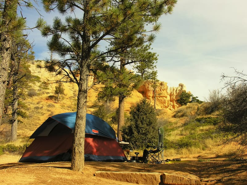 Sunset Campground in Bryce Canyon NP