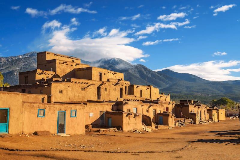 Taos Pueblo in Taos