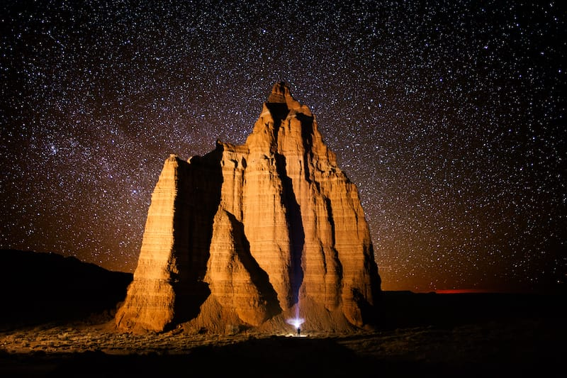 Temple of the Sun and Temple of the Moon (Cathedral Valley)