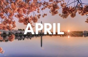 USA in April