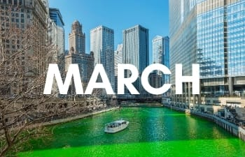 USA in March