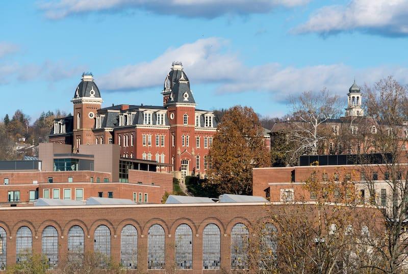 West Virginia University in Morgantown WV