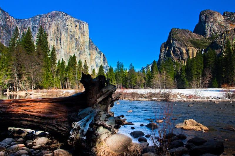 Yosemite National Park April