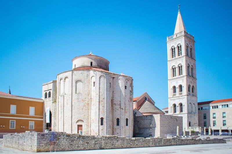 Zadar in April Croatia