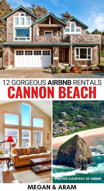 Are you looking for the best Airbnbs in Cannon Beach, OR for an upcoming trip to the Oregon coast? This guide has the best cottages and Cannon Beach Airbnbs! | Cannon Beach cottages | Cannon Beach accommodation | Cannon Beach beach house | Where to stay Cannon Beach | Accommodation Cannon Beach | Cannon Beach rentals | Airbnb rentals in Cannon Beach | Oregon Airbnbs | Best Airbnbs Oregon | Oregon Coast Airbnbs | Airbnbs Oregon Coast