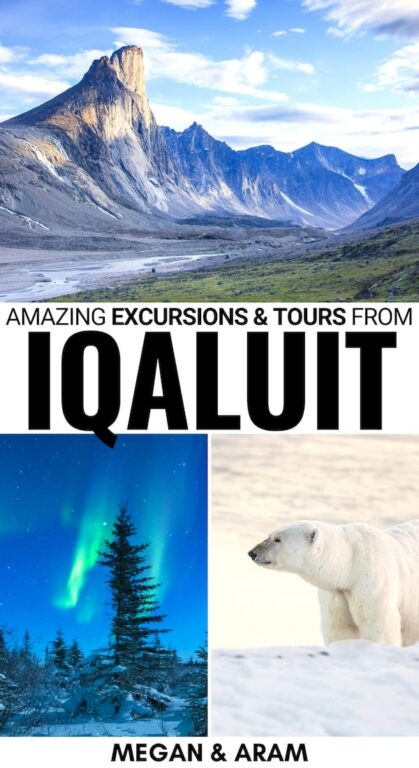 Are you looking for the best excursions from Iqaluit? This guide shows the best things to do in Iqaluit - from northern lights tours to dog-sledding and more! | Iqaluit things to do | What to do in Iqaluit | Northern lights Iqaluit | Dog sledding Iqaluit | Iqaluit tours | Iqaluit itinerary | Places to visit in Nunavut | Iqaluit excursions | Baffin Island travel | Visit Iqaluit | Visit Baffin Island | Visit Nunavut | Canada Arctic | Things to do in Nunavut | Nunavut tours | Nunavut nortern lights