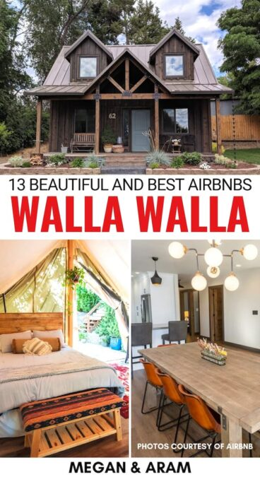 Are you planning a trip to Washington wine country? These are the best Airbnbs in Walla Walla - one of the best destinations for wine lovers in WA! | Walla Walla Airbnbs | Walla Walla cottages | Walla Walla cabins | Walla Walla accommodation | Cottages in Walla Walla | Where to stay in Walla Walla | Walla Walla itinerary | Things to do in Walla Walla | Villas in Walla Walla | Wine trip to Walla Walla | Rentals in Walla Walla