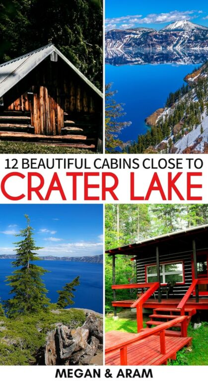 Are you searching for the best Airbnbs near Crater Lake National Park? These are the best cabins and Airbnbs in Klamath Falls and close to Crater Lake (+ map)! | Crater Lake cabins | Cabins in Crater Lake | Oregon Airbnb | Airbnbs in Oregon | Klamath Falls accommodation | Klamath Falls cabins | Oregon cabins | Crater Lake where to stay | Airbnb Crater Lake | Crater Lake Accommodation | Where to stay Crater Lake