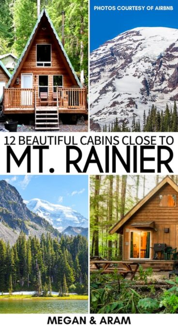 Are you looking for the coziest and best cabins near Mt. Rainier National Park? You'll find hot tubs, forest views, and more at these Mt. Rainier Airbnbs! | Packwood cabins | Ashford cabins | Mt. Rainier cabins | Mt. Rainier Airbnb rentals | Airbnbs near Mt. Rainier National Park | Cottages Mt. Rainier | Cabins with hot tubs Mt. Rainier | Mt. Rainier accommodation | Where to stay Mt. Rainier | Mt. Rainier itinerary | Mt. Rainier trip | Visit Mt. Rainier