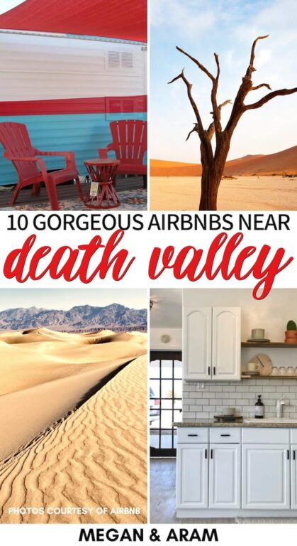 Are you looking for the best Death Valley Airbnbs for your trip? This guide showcases the best Death Valley cabins and Airbnb rentals - including unique stays! | Airbnb Death Valley | Where to stay in Death Valley | Death Valley Accommodation | Death Valley rentals | Death Valley cottages | Death Valley bungalows | Death Valley RV | Death Valley Airstream | Death Valley Airbnb rental | Death Valley itinerary | Pahrump Airbnbs | Tecopa Airbnbs | Pahrump cabins | Airbnb Nevada