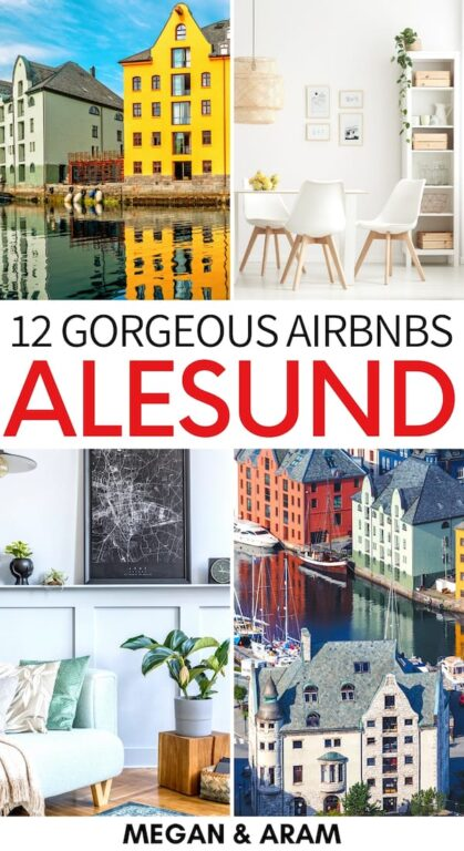 Are you looking for the best Airbnbs in Ålesund, Norway? This Ålesund Airbnb guide will help you find city center accommodation (including budget properties)! | Alesund Airbnbs | Best Airbnbs Alesund | Airbnb Norway | Where to stay in Alesund | Where to stay in Norway | Things to do in Alesund | Alesund itinerary | Alesund Accommodation | Norway accommodation | Alesund Apartments | Alesund what to do | Travel to Alesund | Visit Alesund
