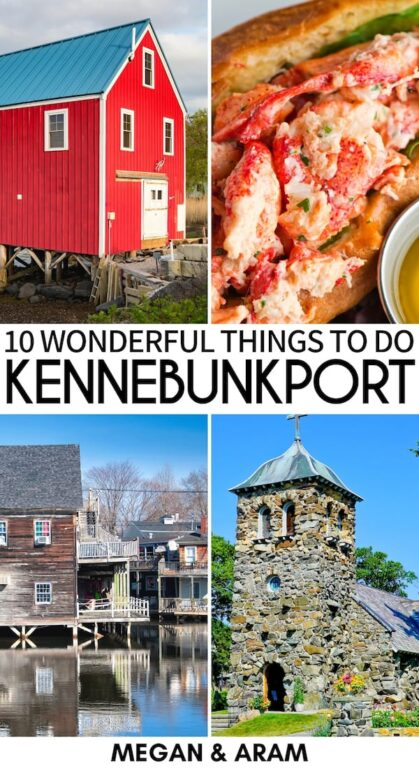 Are you looking for things to do in Kennebunkport, Maine for your upcoming trip? This guide details the best Kennebunkport attractions, travel tips, and more! | Kennebunkport things to do | Kennebunkport landmarks | attractions in Kennebunkport | What to do in Kennebunkport | Kennebunkport itinerary | Kennebunkport day trips | Weekend trips in Maine | Places to visit in Maine | coastal towns in Maine | Kennebunkport places to visit | Kennebunkport travel | Visit Kennebunkport