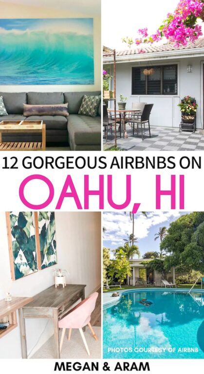 Looking for the best Airbnbs in Oahu? This guide gives 12 great options for ANY budget. From Waikiki to the North Shore - these are the best Oahu Airbnbs. | Where to stay in Oahu | Oahu Accommodation | Airbnb rentals in Oahu | Waikiki Airbnbs | Airbnbs in Honolulu | North Shore Airbnbs | Hawaii Airbnbs | Airbnb Oahu | Best accommodation in Honolulu | Places to stay Oahu | Oahu itinerary | Places to visit in Hawaii | Oahu cottages | Oahu bungalows | Oahu condos | Oahu rentals