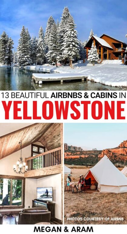 Are you looking for the best Airbnbs in Yellowstone National Park for your upcoming trip? This guide discloses our top Yellowstone Airbnbs, for any budget! | Yellowstone Airbnb | Yellowstone cabins | Cabins in Yellowstone | Airbnb Yellowstone National Park | Yellowstone lodging | Yellowstone National Park Airbnbs | Yellowstone lodging | Where to stay in Yellowstone National Park | Gardiner Airbnbs | Island Park Airbnbs | West Yellowstone Airbnbs | Airbnb West Yellowstone