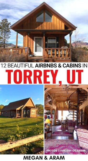 Are you looking for the best Airbnbs in Torrey, Utah for your trip to Capitol Reef National Park? These are the top-rated Torrey Airbnbs (and cabins nearby)! | Capitol Reef National Park Airbnbs | Capitol Reef National Park lodging | Capitol Reef National Park Rentals | Capitol Reef National Park where to stay | Torrey Utah Airbnbs | Teasdale Airbnb | Torrey accommodation | Capitol Reef National Park accommodation | Utah glamping | Utah Airbnb | Capitol Reef National Park cabins | Torrey cabins