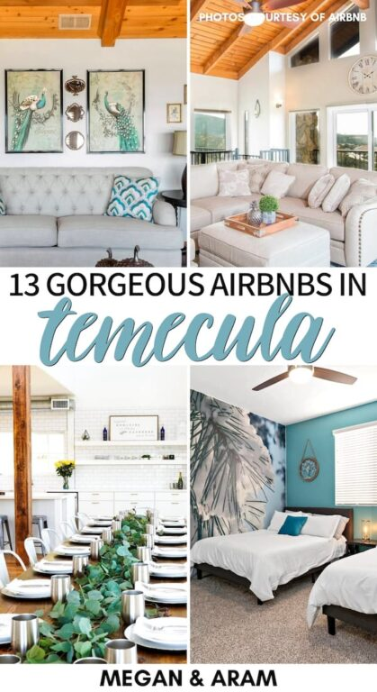 Are you heading to Temecula for a wine getaway with friends or family? These are the best Airbnbs in Temecula (for all budgets)! Saltwater pools, villas, and more! | Temecula villas | Villas in Temecula | Temecula accommodation | Where to stay in Temecula | Temecular bachelorette party | Airbnb Temecula | Temecula Airbnb rentals | Temecula where to stay | Bachelorette party Temecula | Wedding Temecula | Temecula wedding