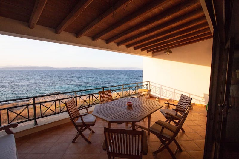 Airbnbs in Aegina town