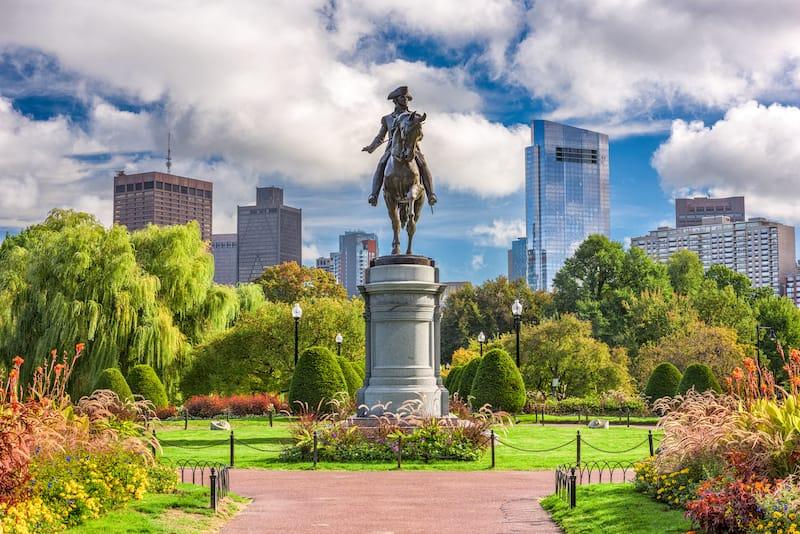 Boston in May