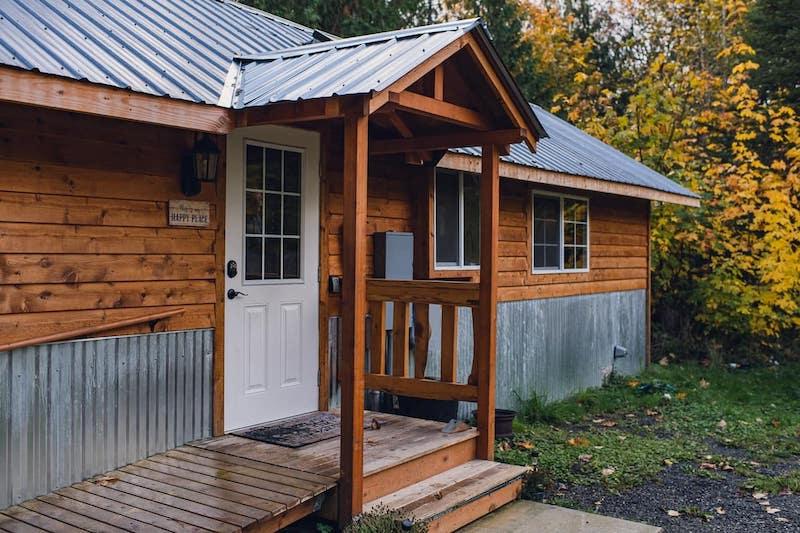 Cabin in Olympic Peninsula