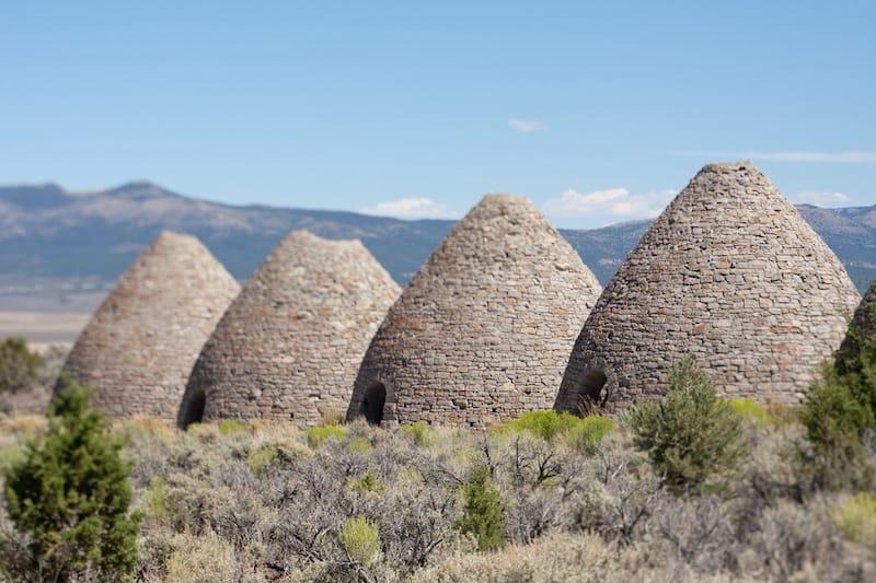 Charcoal Kilns near Ely Nevada