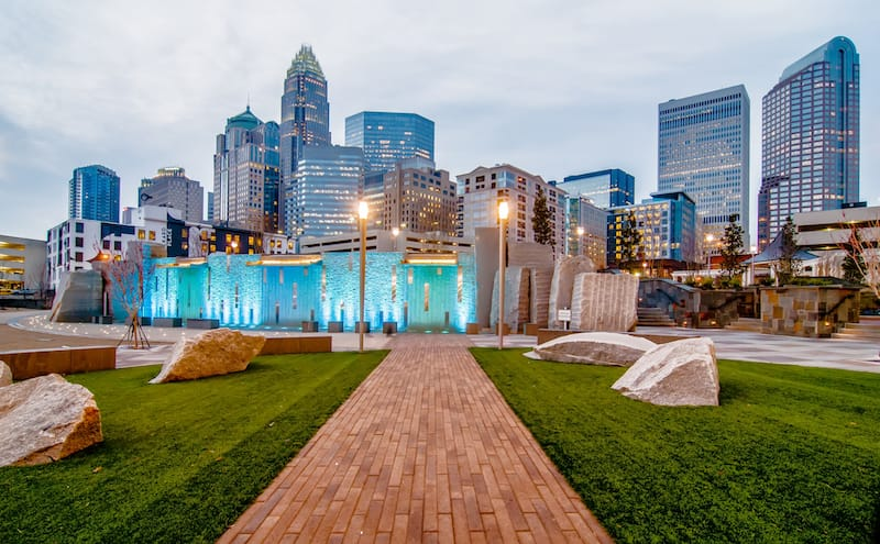 Charlotte in May