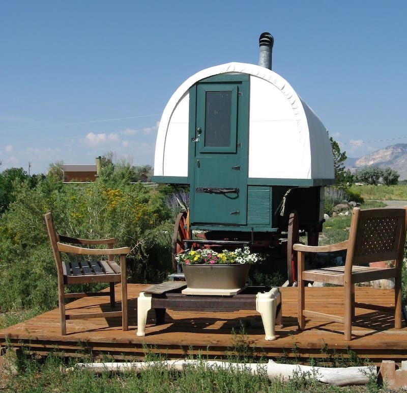 Cozy Sheepherder's Wagon