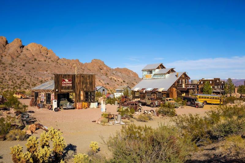 El Dorado Canyon in Nevada