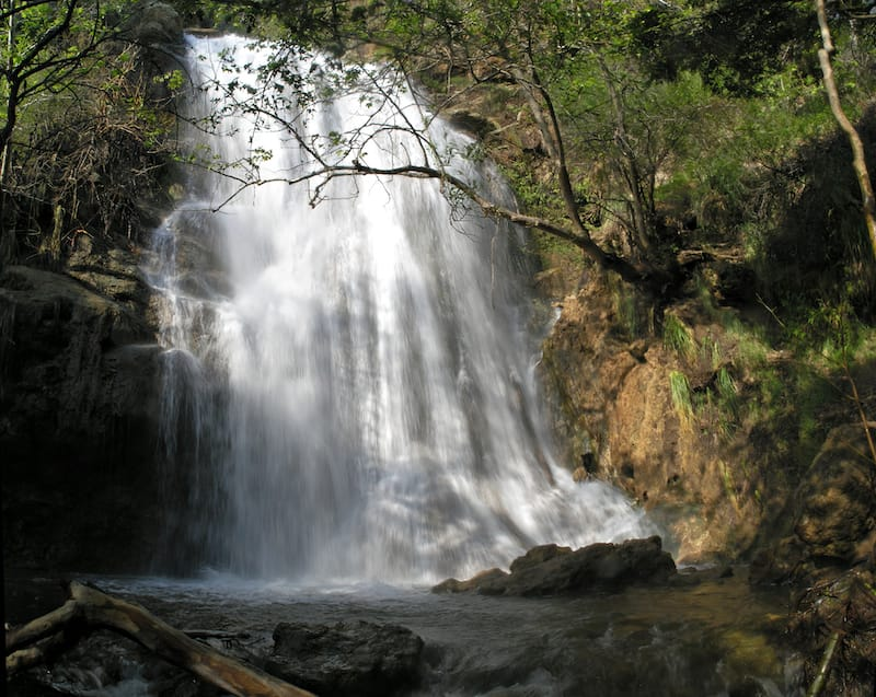 Escondido Falls in CA