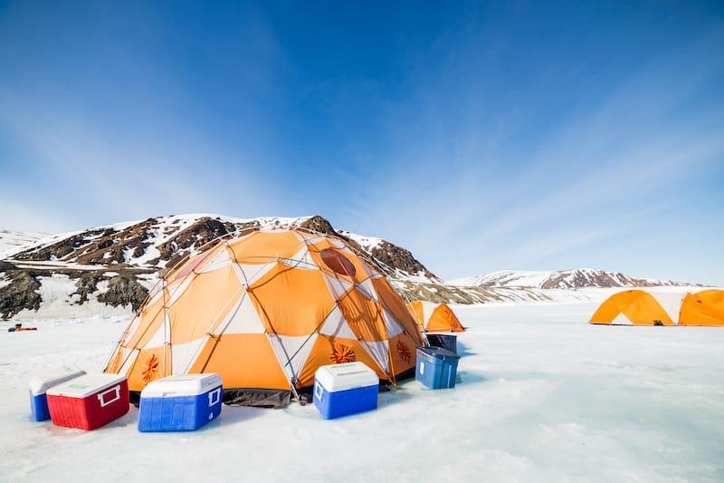 Expedition in Nunavut