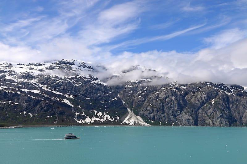 Glacier Bay National Park in May