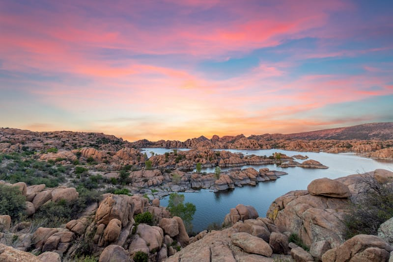 Granite Dells in Prescott Arizona