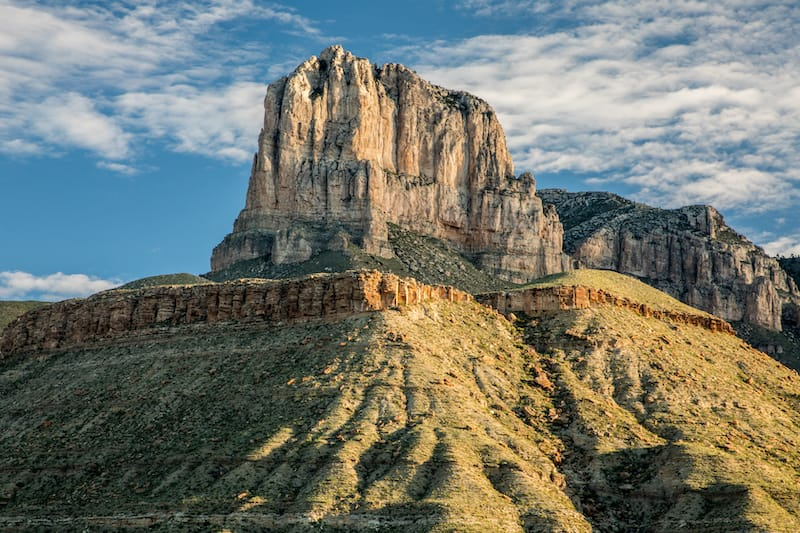 Guadalupe Mountains National Park in May