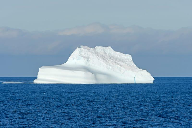 Iceberg near Baffin Island in Nunavut