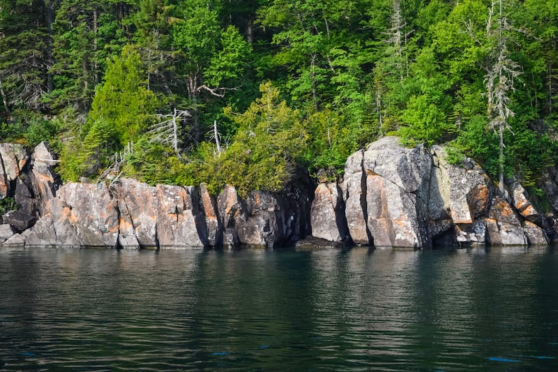 Isle Royale National Park in May