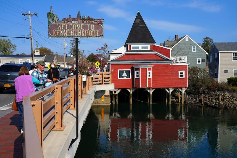 Kennebunkport bridge - EQRoy - Shutterstock.com