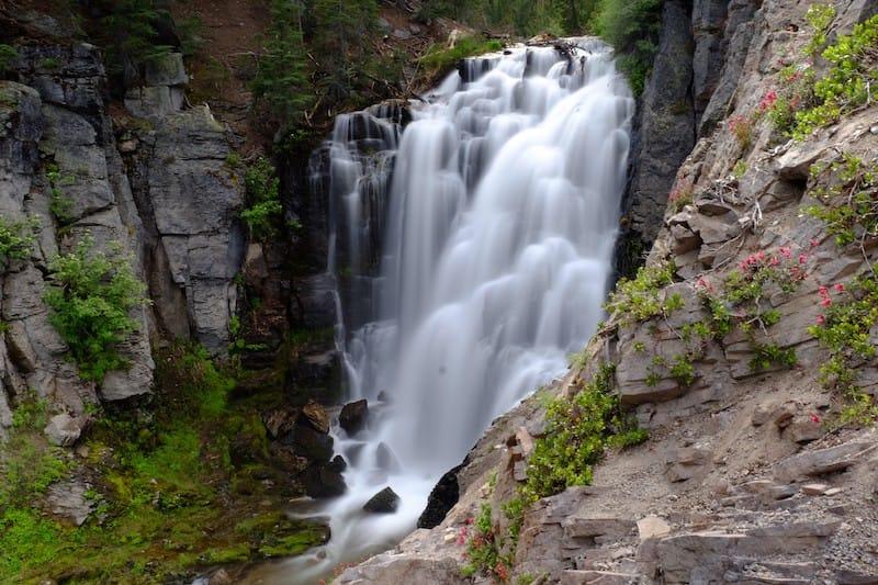 Kings Creek Falls in CA