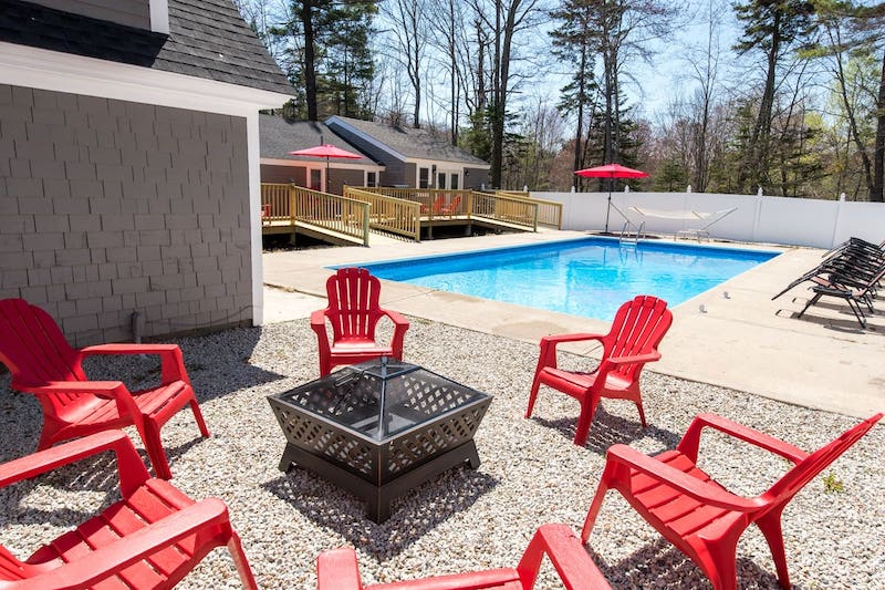 Large Kennebunkport Beach House with Pool