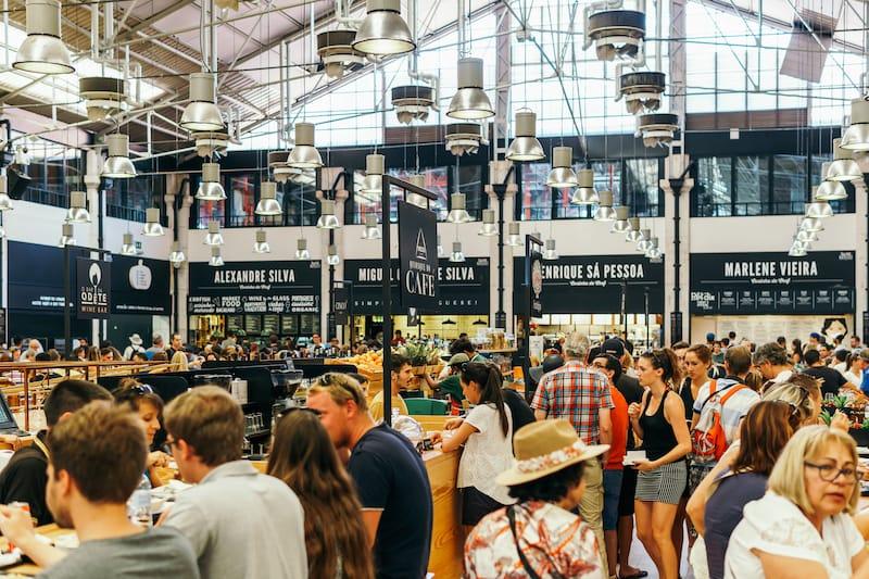 Lisbon Time Out Market Editorial credit Radu Bercan -Shutterstock.com