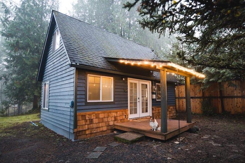 Millard's Cabin at Mt. Rainier 1