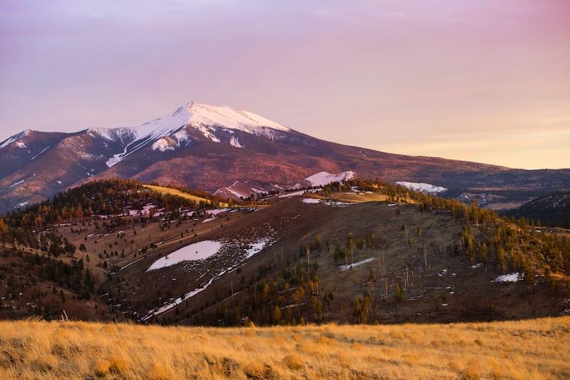 Mount Humphrey near Flagstaff, AZ